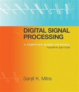 Digital Signal Processing with Student CD ROM 4 w/CD 9780077366766