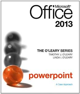 Microsoft Office Powerpoint 2013, by O