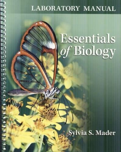 Essentials of Biology, by Mader, 3rd Edition, Lab Manual 9780077402150