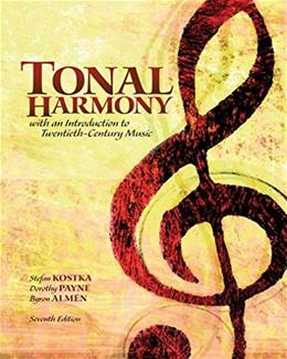 Audio CD for Tonal Harmony, by Payne, 7th Edition, CD-ROM ONLY 7 CD-ROM 9780077410131