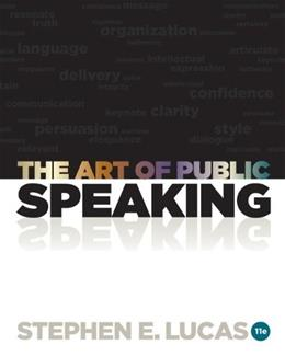Connect Lucas Plus for Art of Public Speaking, by Lucas, 11th Edition, ACCESS CODE ONLY 11 PKG 9780077428228