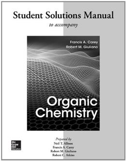 Solutions Manual for Organic Chemistry 9 9780077457471