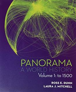 Panorama: A World History, by Dunn, Volume 1: To 1500 9780077482329