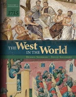 The West in the World Vol 1 to 1715 9780077504472