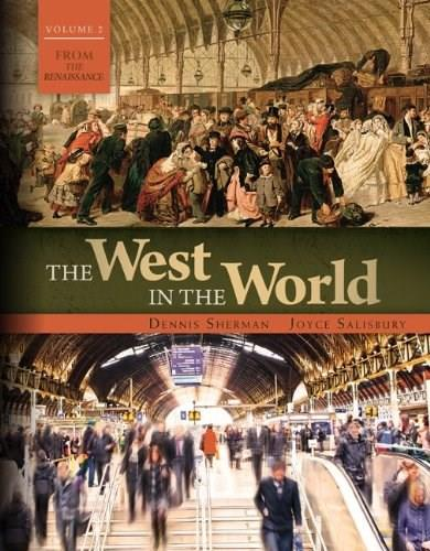The West in the World Volume 2: from 1600 5 9780077504502