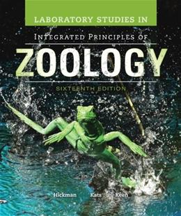 Laboratory Studies in Integrated Principles of Zoology 16 9780077508883