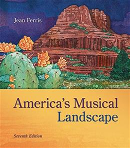 Americas Musical Landscape, by Ferris, 7th Edition, 3 CD-ROMs Only 7 CD-ROM 9780077519216