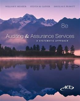 Auditing and Assurance Services, by Messier, 8th Edition 8 w/CD 9780077520151