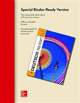 Deutsch: Na klar! An Introductory German Course, by Di Donato, 6th Edition 9780077527846