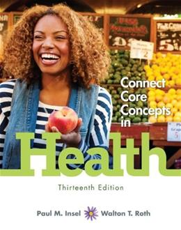 Connect Core Concepts in Health, Loose-Leaf Edition 13 9780077613310