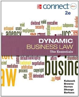 Dynamic Business Law: The Essentials 2 PKG 9780077630430