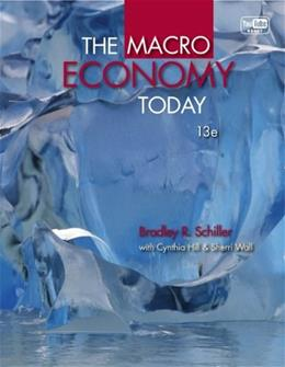 Macro Economy Today, by Schiller, 13th Edition 13 PKG 9780077630683