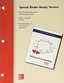 Advanced Accounting, by Hoyle, 12th Edition 9780077632595