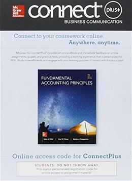 Fundamental Accounting Principles, by Wild, 22nd Edition, ACCESS CODE ONLY 22 PKG 9780077632755