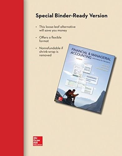 Financial and Managerial Accounting: Information for Decisions, by Wild, 6th Edition 9780077633134