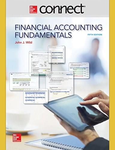 Access Code for Financial Accounting Fundamentals, by Wild, 5th Edition, Connect 1 Semester Access Code Only 5 PKG 9780077633172