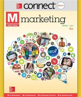 Connect Plus Marketing with LearnSmart for M: Marketing, by Grewal, 4th Edition, Access Code Only 4 PKG 9780077635633