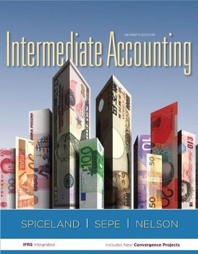 Intermediate Accounting With Annual Report 7 PKG 9780077635862