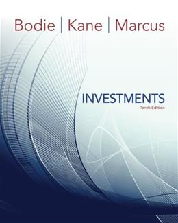 Investments, by Bodie, 10th Edition 9780077641979