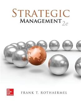 Strategic Management: Concepts 2 9780077645069