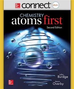 Chemistry: Atoms First Connect Plus, by Burdge, 2nd Edition, Access Code Only 2 PKG 9780077646417