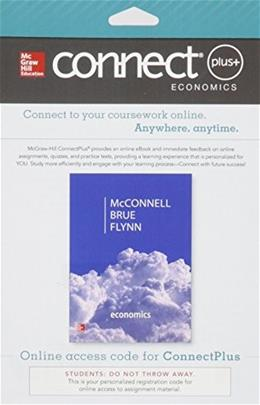 Connect Plus Economics with LearnSmart for Economics, by McConnell, 20th Edition, Access Code Only 20 PKG 9780077660765