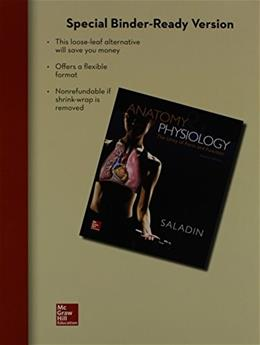 Anatomy & Physiology: A Unity of Form and Function 7 9780077676728