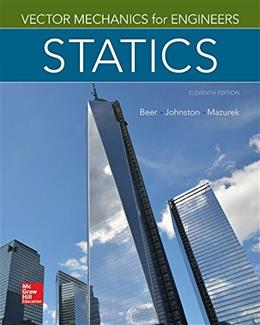 Vector Mechanics for Engineers: Statics, 11th Edition 9780077687304