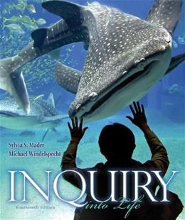 Inquiry into Life, by Mader, 14th Edition 14 PKG 9780077701444