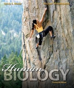 Human Biology, by Mader, 13th Edition 13 PKG 9780077705671