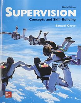 Supervision: Concepts and Skill-Building 9 9780077720612