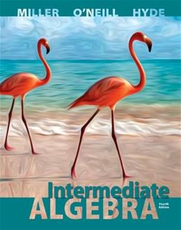 Intermediate Algebra, by Miller, 4th Edition 4 PKG 9780077736880