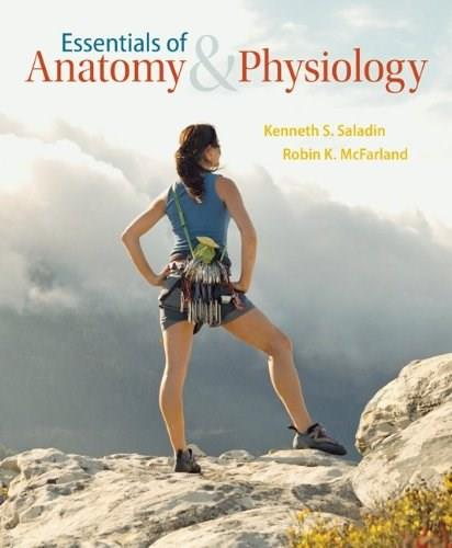 Essentials of Anatomy and Physiology, by Saladin PKG 9780077771508