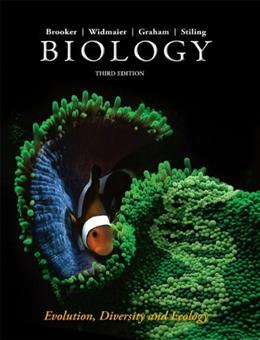 Biology, by Brooker, 3rd CUSTOM EDITION, Volume 2: Evolution, Diversity and Ecology 9780077775841