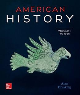 American History: Connecting with the Past Volume 1 15 9780077776756