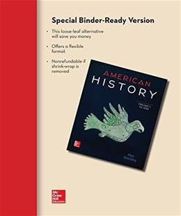 Looseleaf for American History: Connecting with the Past Volume 1 15 9780077776831