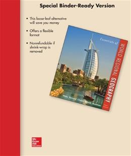 Essentials of World Regional Geography, by White, 3rd Edition 9780077784515