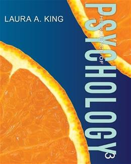 Science of Psychology: An Appreciative View, by King, 3rd Edition ACCESS CODE ONLY 3 PKG 9780077790189
