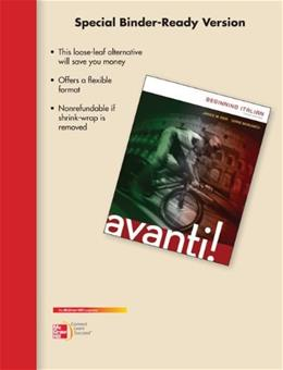Avanti! Beginning Italian, by Aski, 3rd Edition 9780077796815