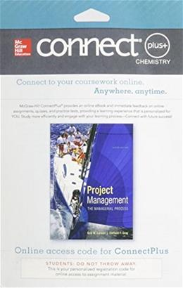Connect Plus Project Management with LearnSmart for Project Management, by Larson,  6th Edition, Access Code Only 6 PKG 9780077818395