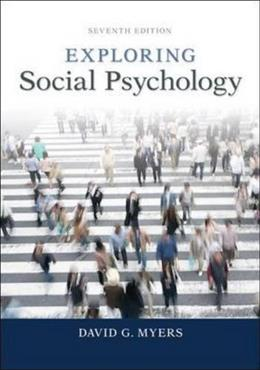 Exploring Social Psychology 7 9780077825454