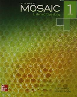 Mosaic: Listening and Speaking, by Hanreddy, 6th Edition, Worktext 6 PKG 9780077831042