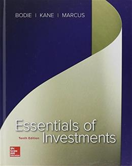 Essentials of Investments (The Mcgraw-hill/Irwin Series in Finance, Insurance, and Real Estate) 10 9780077835422
