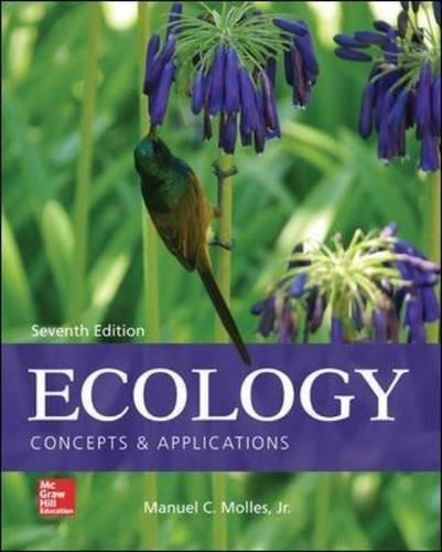 Ecology: Concepts and Applications 7 9780077837280
