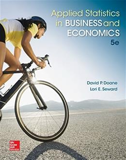 Applied Statistics in Business and Economics 5 9780077837303