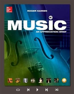 Music: An Appreciation, Brief Edition- Standalone book 8 9780077837310