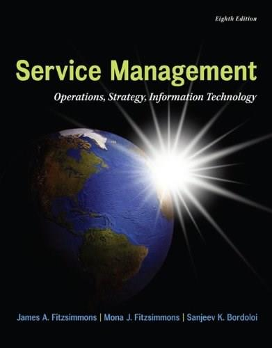 MP Service Management with Service Model Software Access Card (The Mcgraw-hill/Irwin Series in Operations and Decision Sciences) 8 PKG 9780077841201