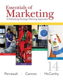 Essentials of Marketing: A Marketing Strategy Planning Approach 14 9780077861049