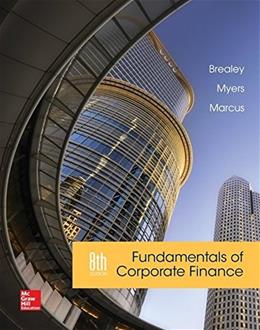 Fundamentals of Corporate Finance 8 9780077861629