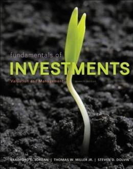 Fundamentals of Investments: Valuation and Management 7 PKG 9780077861636